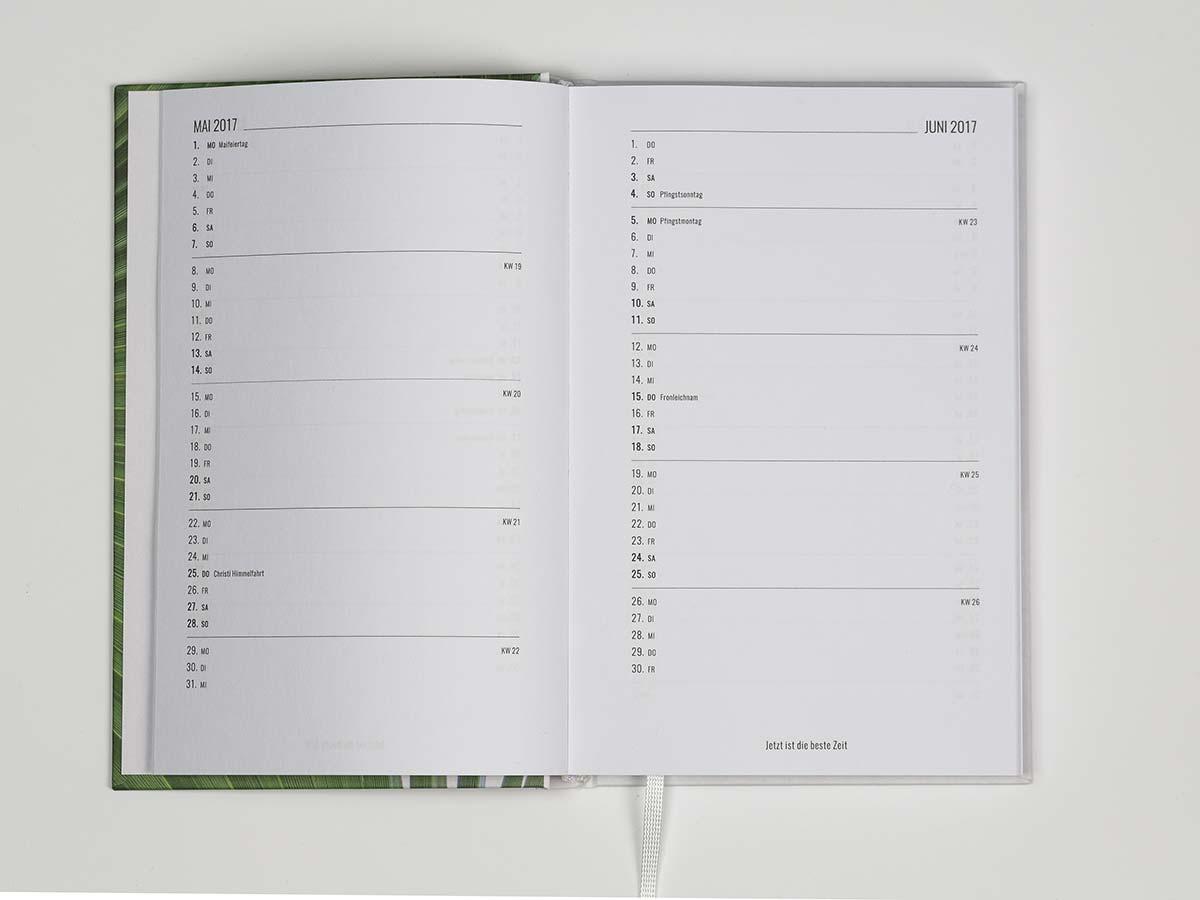 Personalisierte Kalender Tagebucher Organizer Notizkalender